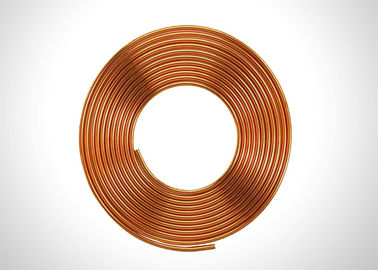 "Cina Anticorrosive 5/16 ""Copper Refrigeration Tubing Soft Annealed Pancake Coil Type pabrik"
