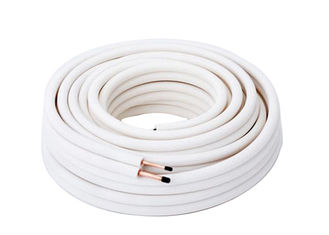 White 1 2 Copper Refrigeration Tubing Roll Untuk Drainase Air Conditioner