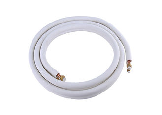 "3/8 ""3/4"" Pipa Ganda Ac Gunakan PE Insulated Refrigeration Copper Tubing Coil"