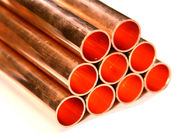 "Hard Type Straight Copper Refrigeration Tubing Untuk Air Conditioner 3/8 ""-8 1/8"" OD pemasok"